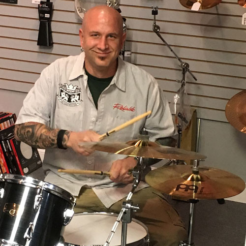 Bluffton Drum Lessons Monthly Tuition - Steve