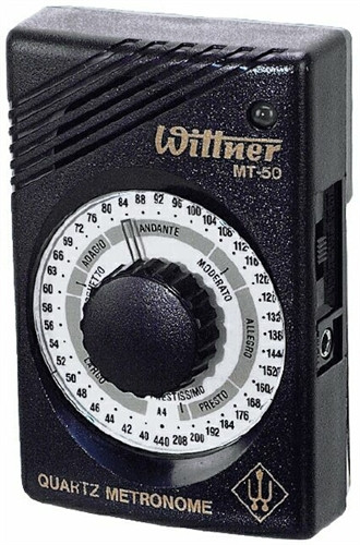 Wittner Quartz Metronome w/Earphone