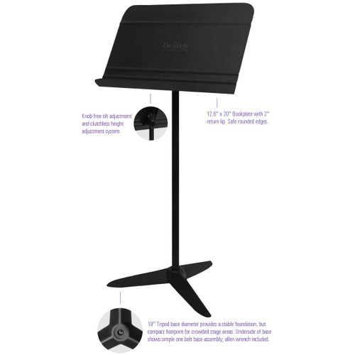 On-Stage Orchestra Music Stand