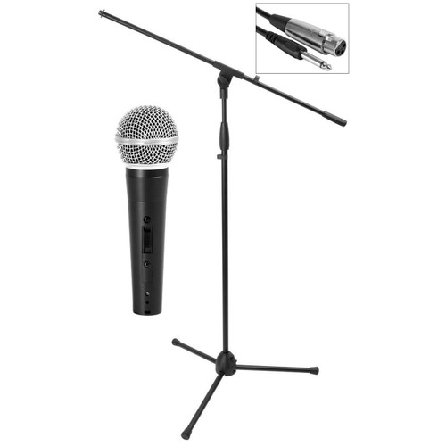 On-Stage MS7500 Microphone & Stand Package