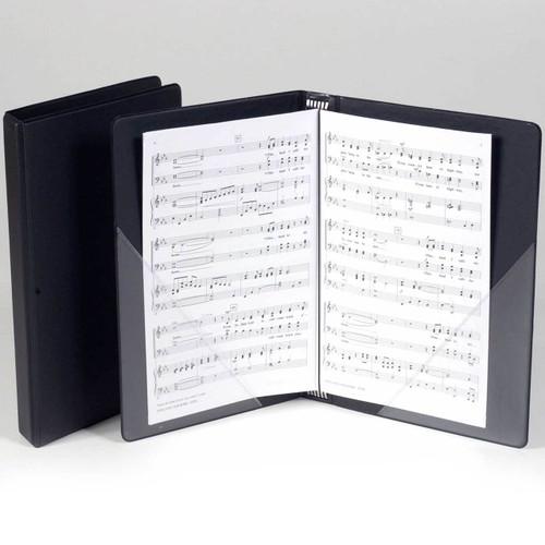Marlo Octavo Choral Folder with Flat Pockets & Strings