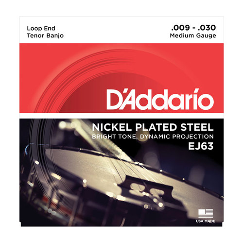 D'Addario Nickel Tenor Banjo Strings