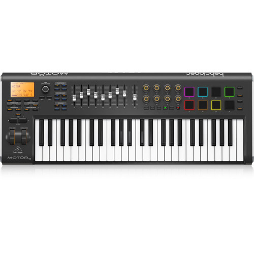 Behringer 49-Key USB MIDI Keyboard Controller with Motorized Faders