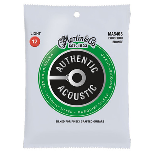 Martin Authentic Acoustic Marquis Silked Phosphor Bronze - Light