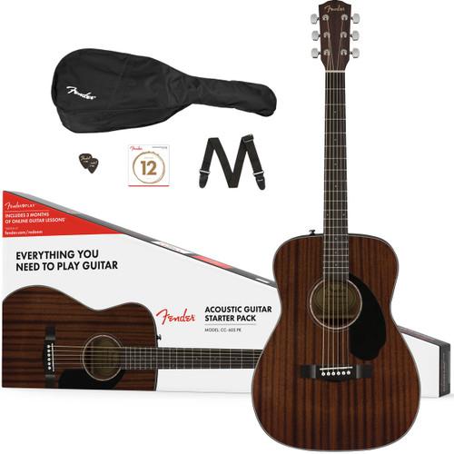 Fender CC-60S Concert Pack - Mahogany