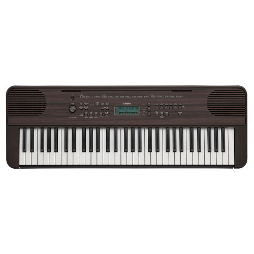 Yamaha PSR-E360 61-Key Dark Walnut Portable Keyboard