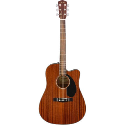 Fender CD-60SCE Dreadnought - All Mahogany