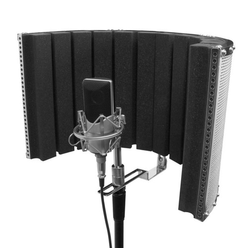 On-Stage Microphone Isolation Shield