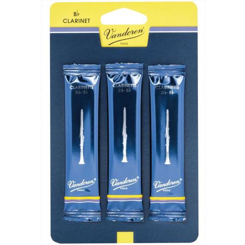 Vandoren #3.5 Clarinet Reeds 3-pack