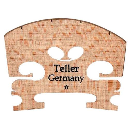Aubert Teller 3/4-Size Fitted Violin Bridge