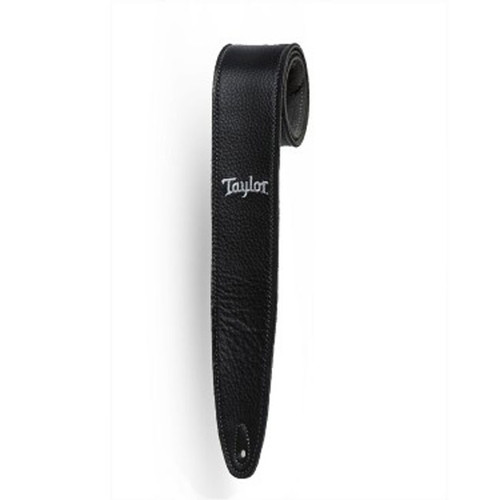 """Taylor 2.5"""" Embroidered Suede Strap - Black"""