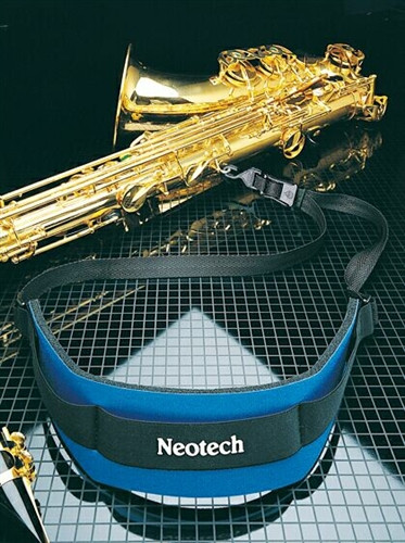 Neotech Soft Saxophone Strap w/Open Hook - Black
