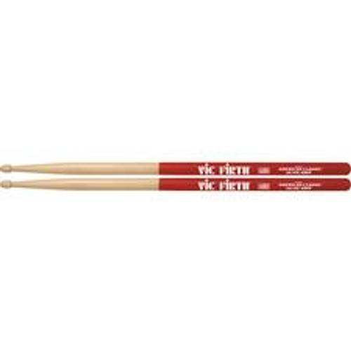 Vic Firth 5A Vic Grip Drumsticks - Wood Tip