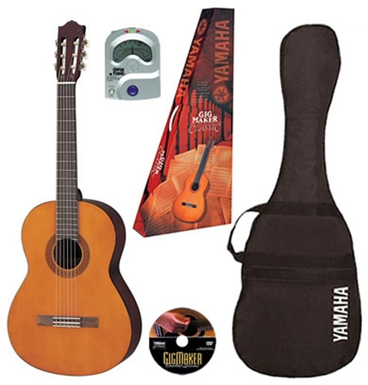 Yamaha Gigmaker Classical Guitar Pack