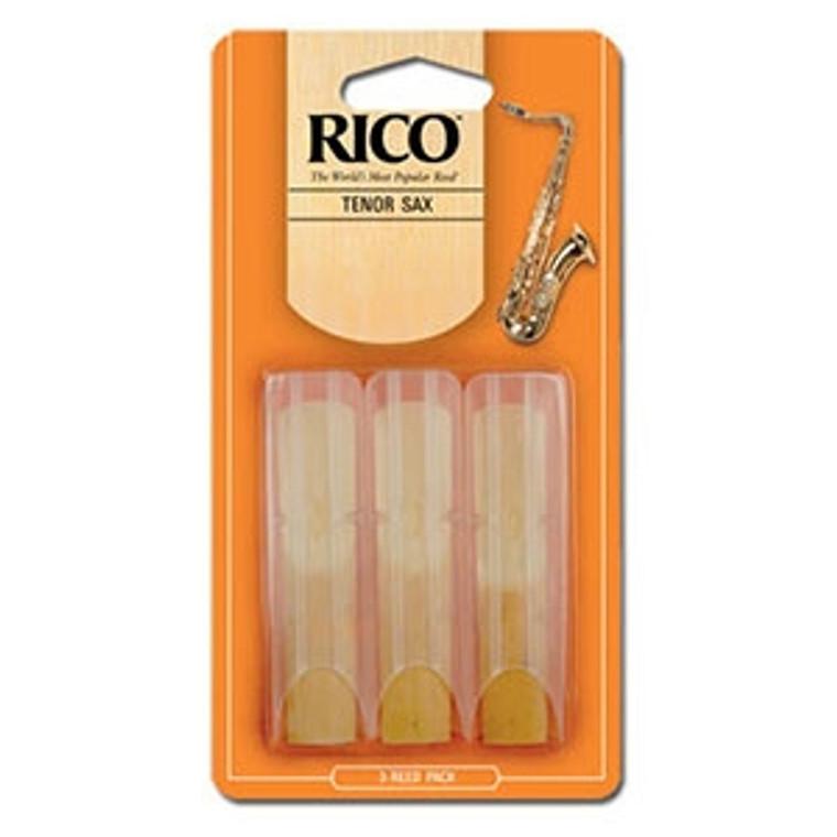 Rico Tenor Sax Reeds 3-pack - #3