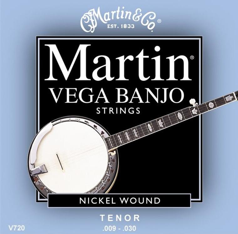 Martin Vega Banjo Strings - Tenor