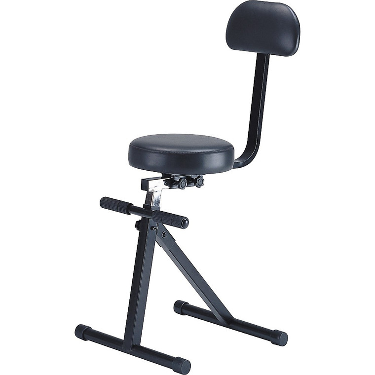 On-Stage Guitar/Keyboard Throne with Backrest