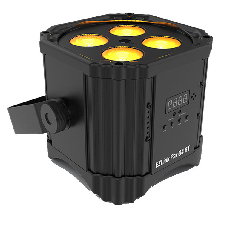 Chauvet EZLink Par Q4 BT Rechargeable Bluetooth LED Light Fixture