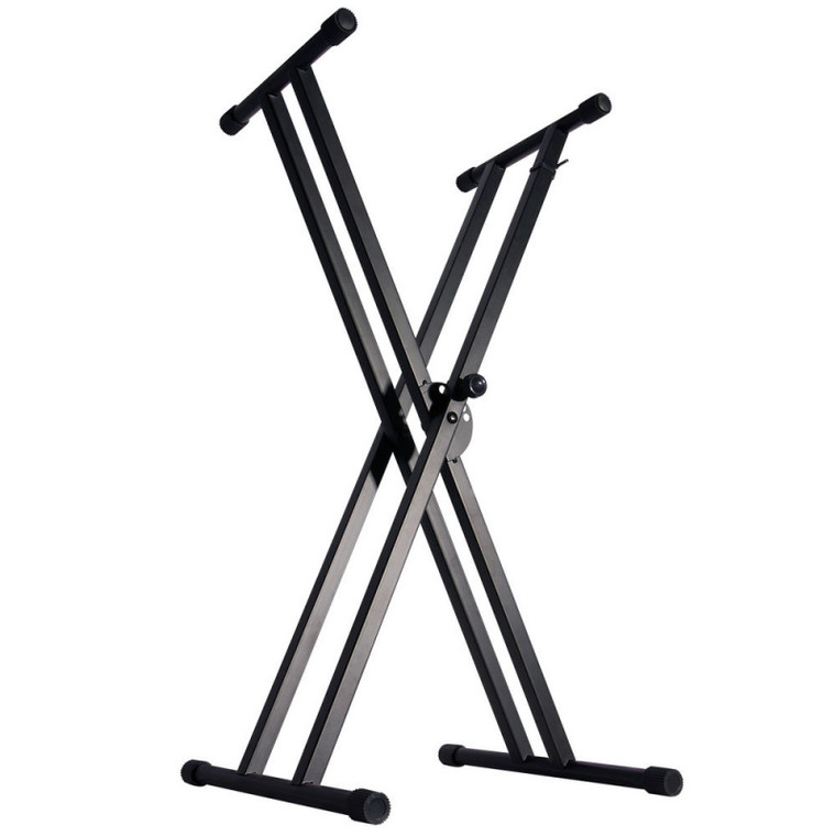 On-Stage Double-X Bolted Keyboard Stand