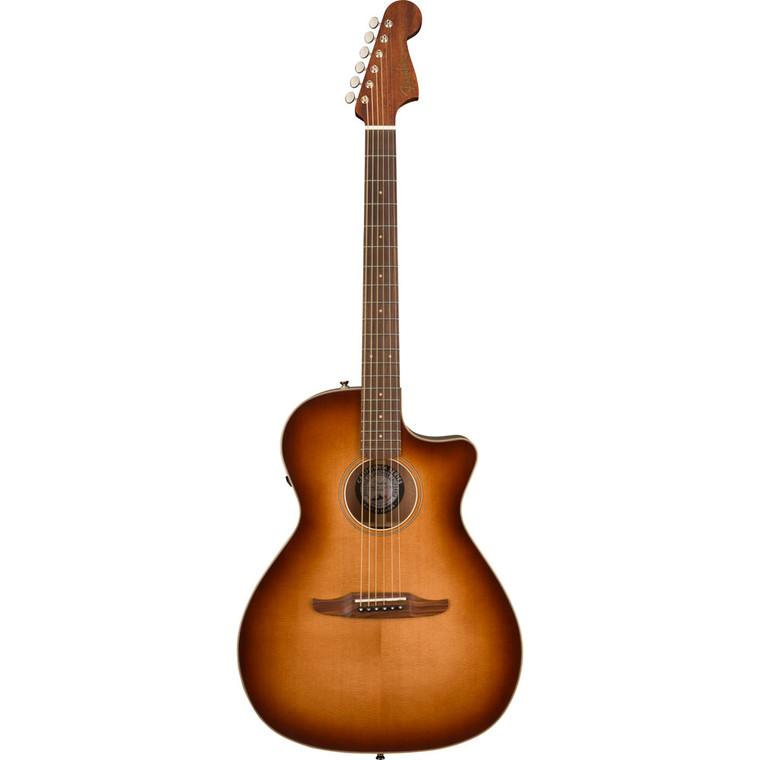 Fender Newporter Classic - Aged Cherry Burst
