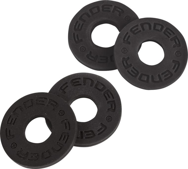 Fender Strap Blocks, 4-pack - Black