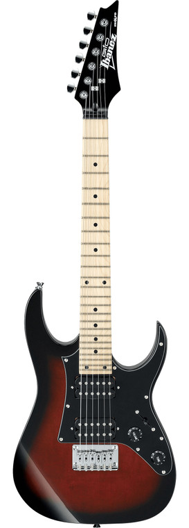 Ibanez Mikro Electric Guitar - Walnut Sunburst