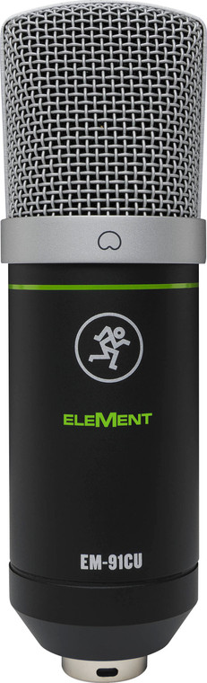 Mackie EleMent USB Condenser Microphone with Shockmount