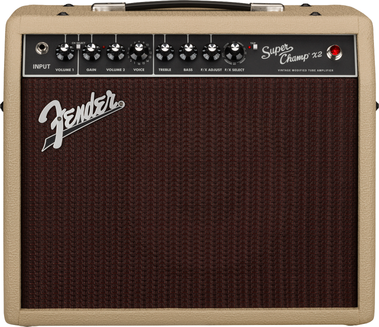 Fender Limited Edition Super Champ X2 Blonde