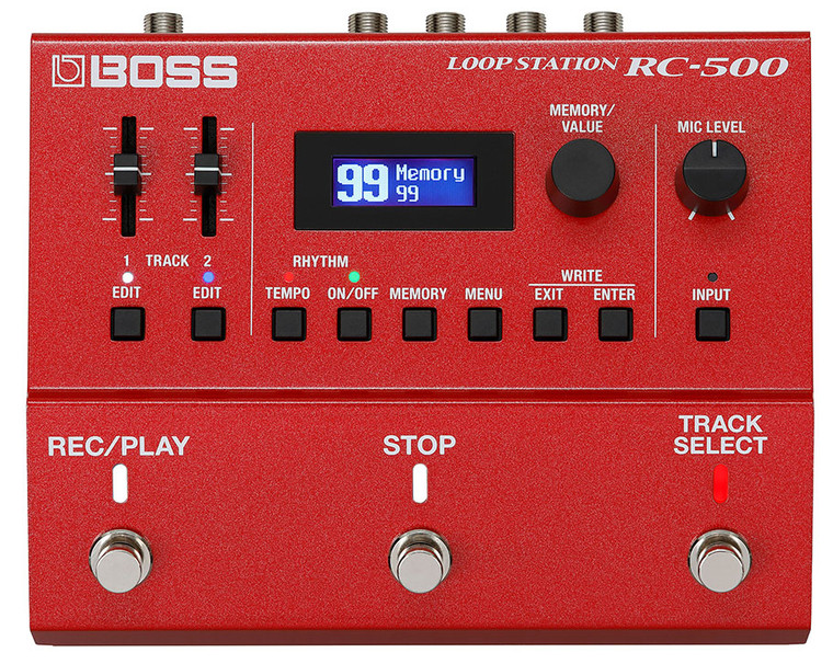 BOSS RC500 2-Track Loop Station Pedal