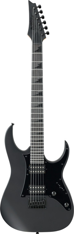 Ibanez GIO GRGR131EX Black Sharktooth - Black Flat