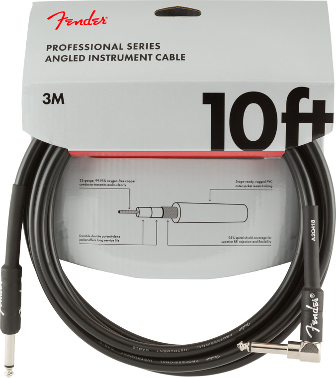 Fender Professional 10' Straight-Angle Instrument