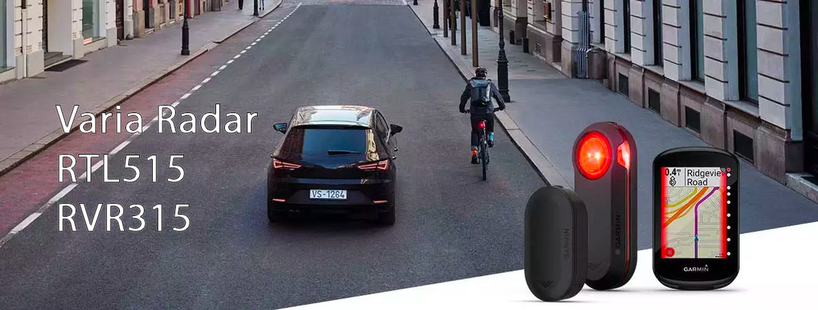 The new Garmin Varia RVR315 and RTL515 keep cyclists safer on the road