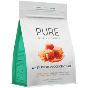 PURE Whey Protein Salted Caramel 500G Pouch