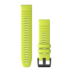 Garmin QuickFit 22 AMP Yellow Silicone (010-12863-04)