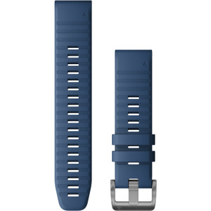 Garmin QuickFit 22 Captain Blue Silicone (010-12863-21)