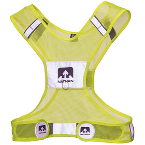 Nathan Streak Reflective Vest Neon Yellow - Large/X-Large