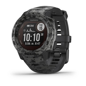 Garmin Instinct Solar – Tactical Edition - Graphite Camo (010-02293-15)