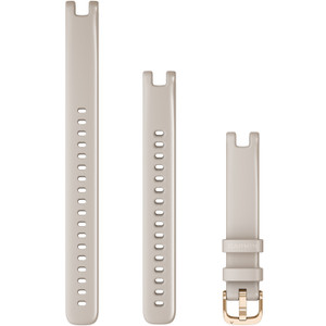 Replacement Garmin Lily Band (14 mm) Light Sand with Rose Gold Hardware (010-13068-01)