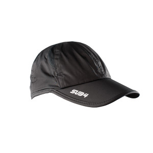 SUB4 Performance Running Cap - Black