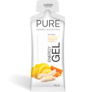 PURE Energy Gel 35g - Banana & Manuka Honey (35EGBM)