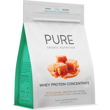 PURE Whey Protein Salted Caramel 1KG Pouch