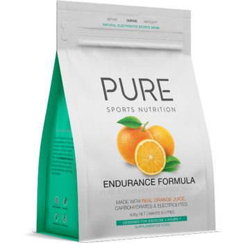 PURE Endurance Formula 500g Pouch - Orange