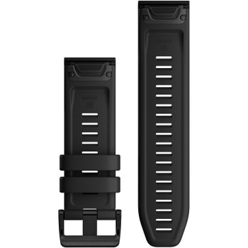 Garmin QuickFit 26 Black Silicone Watch Band