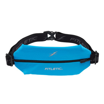 Fitletic Mini Sport Belt Runners Pouch - Neon Turquoise (MSB01-N4)