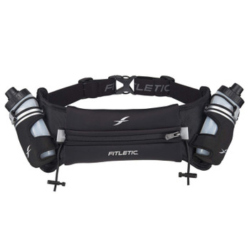 Fitletic Hydration Belt - Hydra 16 - Black Running Belt
