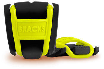 BRACKS lace lock - Black/Lime