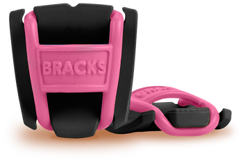 BRACKS lace lock - Black/Pink