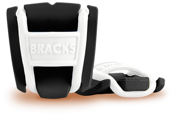 BRACKS lace lock - Black/White