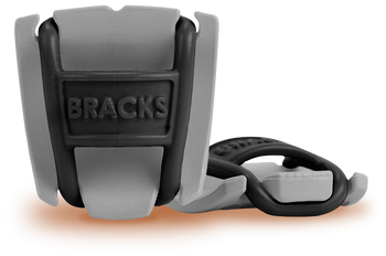 BRACKS lace lock - Grey/Black