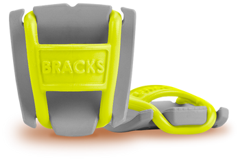 BRACKS lace lock - Grey/Lime